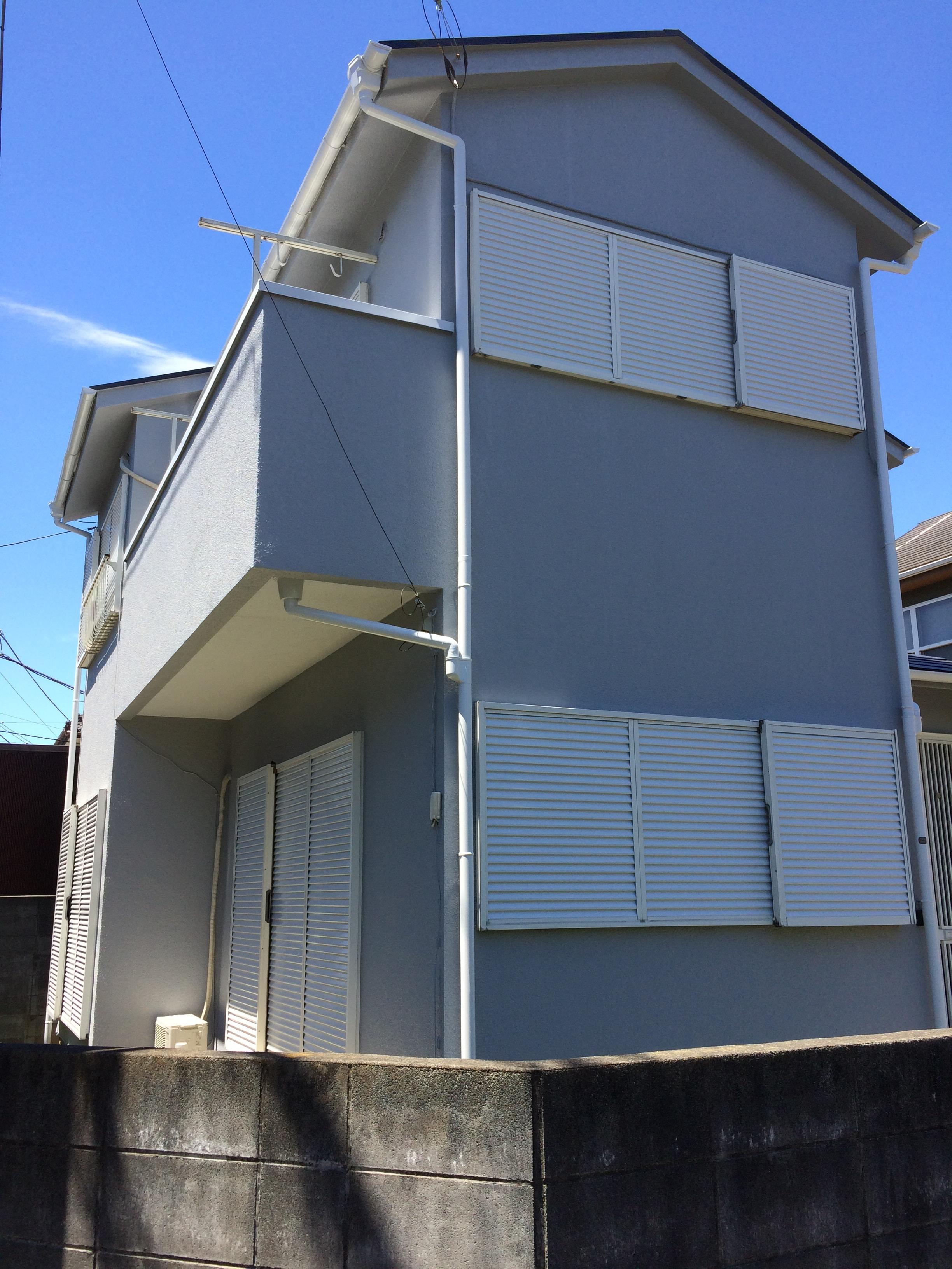 外壁塗装 塗装事例 施工後