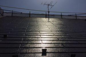 屋根塗装 施工実績 施工後